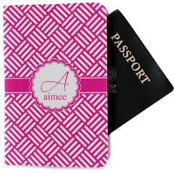 Hashtag Passport Holder - Fabric (Personalized)