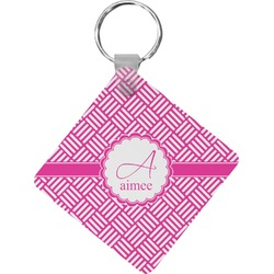 Hashtag Diamond Key Chain (Personalized)