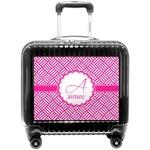 Square Weave Pilot / Flight Suitcase (Personalized)