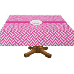 Hashtag Rectangle Tablecloth (Personalized)