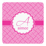 Square Weave Square Decal (Personalized)