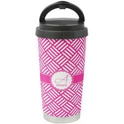 Hashtag Stainless Steel Travel Mug (Personalized)