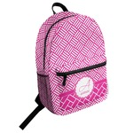 Square Weave Student Backpack (Personalized)