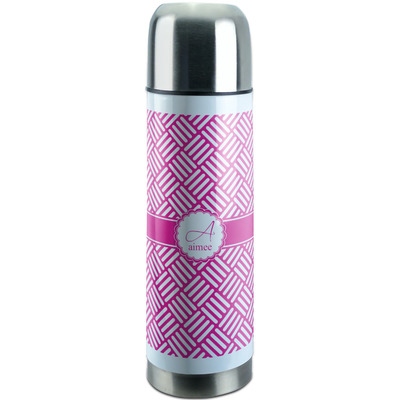 Square Weave Stainless Steel Thermos (Personalized)