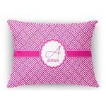 Hashtag Rectangular Throw Pillow Case (Personalized)