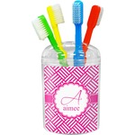 Square Weave Toothbrush Holder (Personalized)