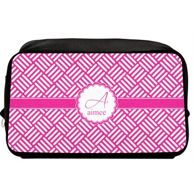 Square Weave Toiletry Bag / Dopp Kit (Personalized)