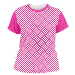 Square Weave Women's Crew T-Shirt (Personalized)