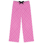 Square Weave Womens Pajama Pants (Personalized)