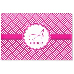 Hashtag Woven Mat (Personalized)