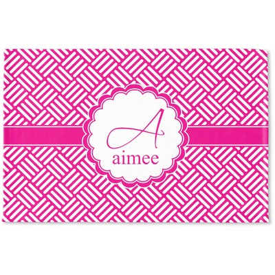 Square Weave Woven Mat (Personalized)