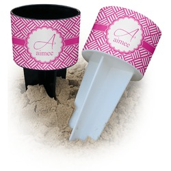 Hashtag Beach Spiker Drink Holder (Personalized)