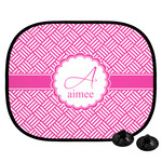 Square Weave Car Side Window Sun Shade (Personalized)