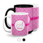 Square Weave Coffee Mugs (Personalized)