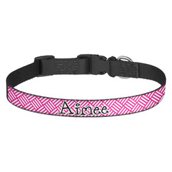 Square Weave Dog Collar (Personalized)
