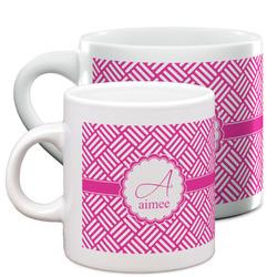 Square Weave Espresso Cups (Personalized)