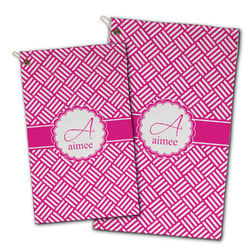 Square Weave Golf Towel - Full Print w/ Name and Initial