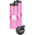 Square Weave Stainless Steel Skinny Tumbler (Personalized)