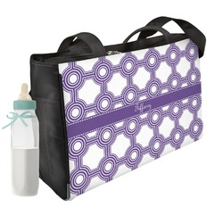 Connected Circles Diaper Bag (Personalized)