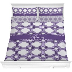 Connected Circles Comforter Set (Personalized)