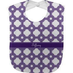 Connected Circles Baby Bib (Personalized)