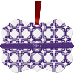 Connected Circles Ornament (Personalized)