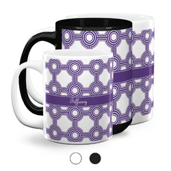 Connected Circles Coffee Mugs (Personalized)