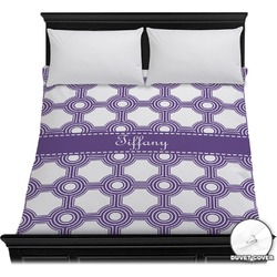 Connected Circles Duvet Cover (Personalized)