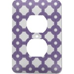 Connected Circles Electric Outlet Plate (Personalized)