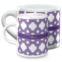 Connected Circles Espresso Cups (Personalized)