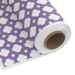 Connected Circles Custom Fabric - Spun Polyester Poplin (Personalized)