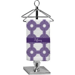 Connected Circles Finger Tip Towel - Full Print (Personalized)