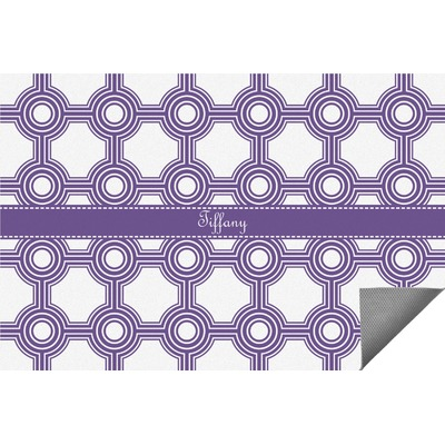Connected Circles Indoor / Outdoor Rug (Personalized)