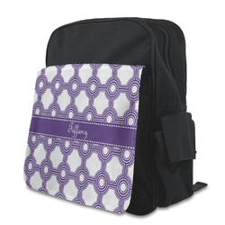 Connected Circles Preschool Backpack (Personalized)
