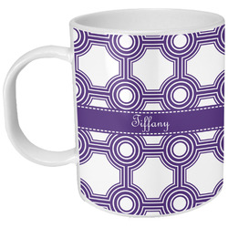 Connected Circles Plastic Kids Mug (Personalized)