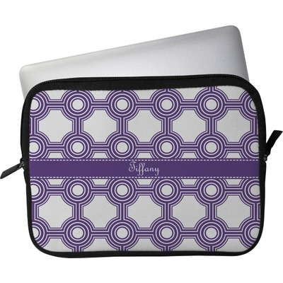 "Connected Circles Laptop Sleeve / Case - 15"" (Personalized)"