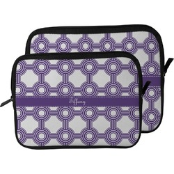Connected Circles Laptop Sleeve / Case (Personalized)