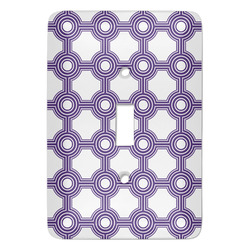 Connected Circles Light Switch Covers - Multiple Toggle Options Available (Personalized)