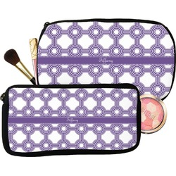 Connected Circles Makeup / Cosmetic Bag (Personalized)