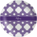 Connected Circles Melamine Plate (Personalized)