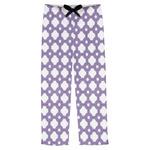 Connected Circles Mens Pajama Pants (Personalized)