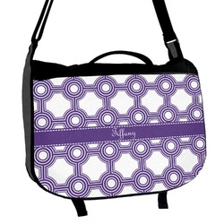 Connected Circles Messenger Bag (Personalized)