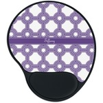Connected Circles Mouse Pad with Wrist Support