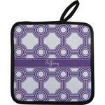 Connected Circles Pot Holder (Personalized)