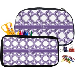 Connected Circles Pencil / School Supplies Bag (Personalized)