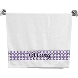 Connected Circles Bath Towel (Personalized)