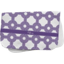 Connected Circles Burp Cloth (Personalized)