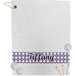 Connected Circles Golf Towel (Personalized)