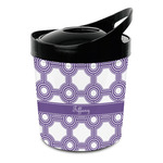 Connected Circles Plastic Ice Bucket (Personalized)