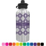 Connected Circles Water Bottle (Personalized)